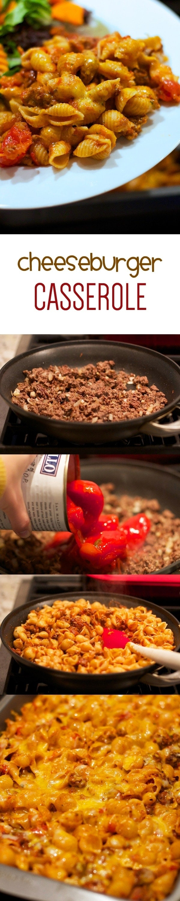 Adding Tomatoes to Ground Beef Mixture