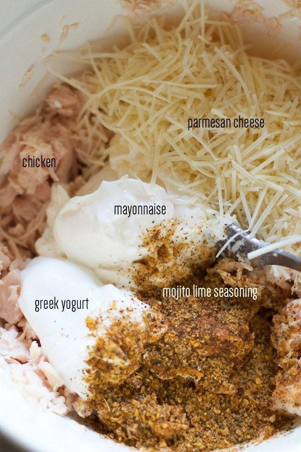 Chicken Parmesan Melt Mixture