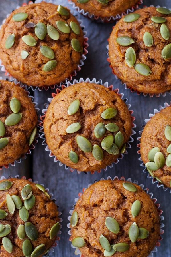 Bakery-Style Pumpkin Muffins