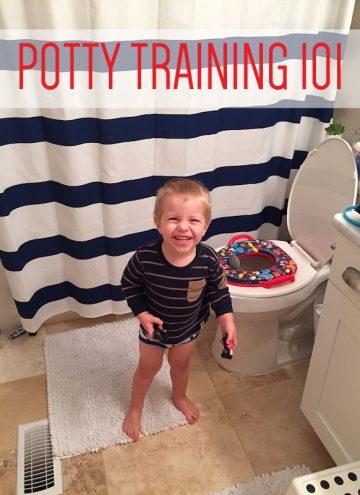 Potty Training Blake
