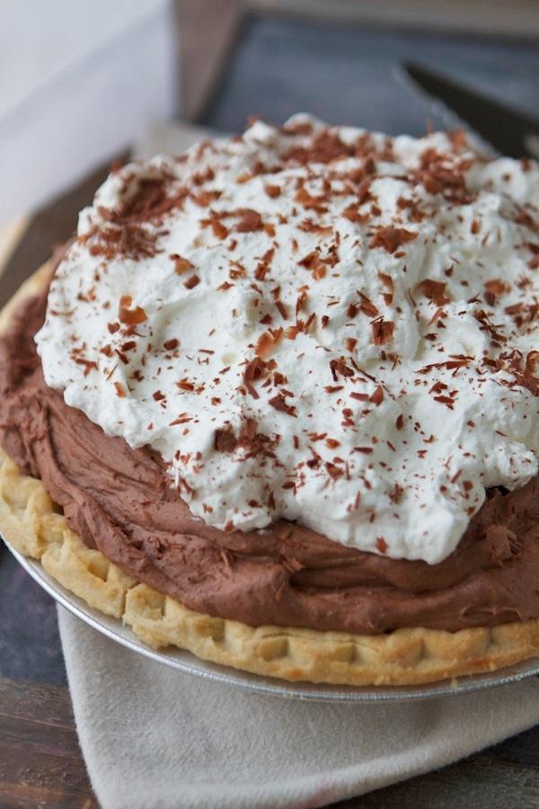 Easy Chocolate Pie Recipe
