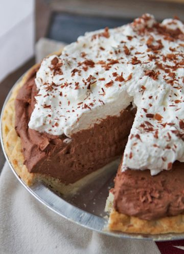 Super Speedy Double Chocolate Pie