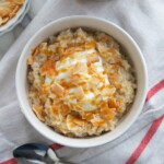 Caramel Coconut Cream Oatmeal