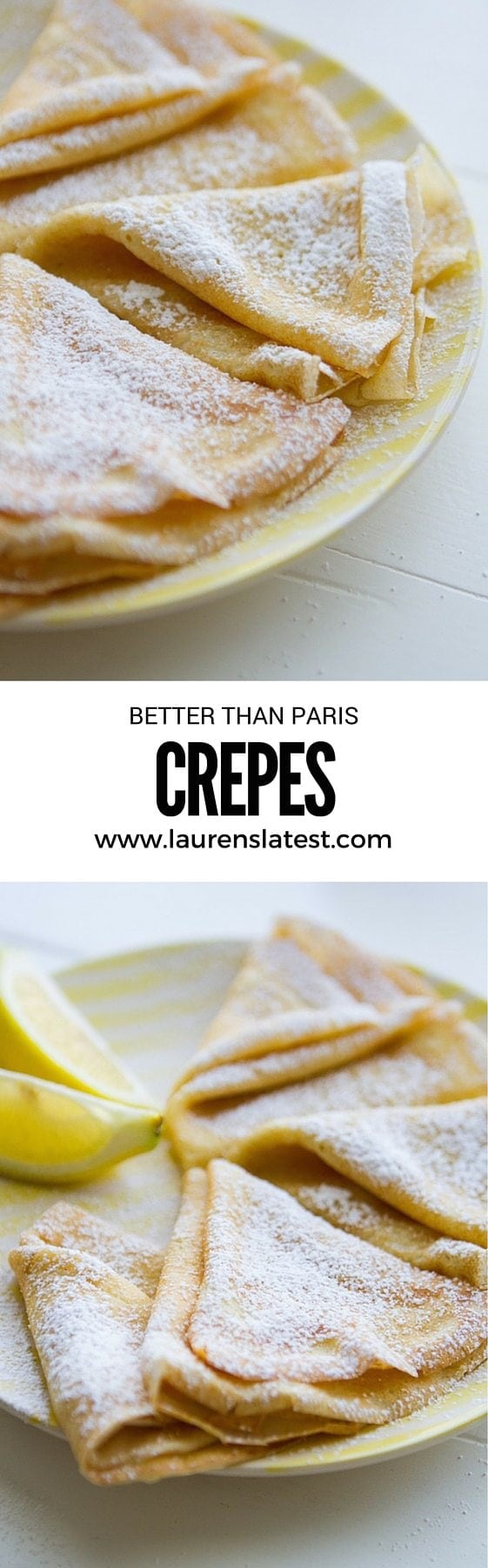 Crepes alert! When you can't go to Paris, bring Paris to you with this easy crepes recipe. Get the ingredients and learn how to make crepes with my super simple techniques!