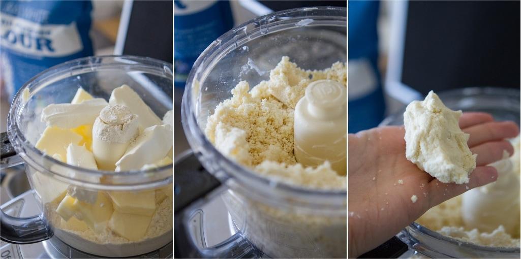 Mixing Crust Dough
