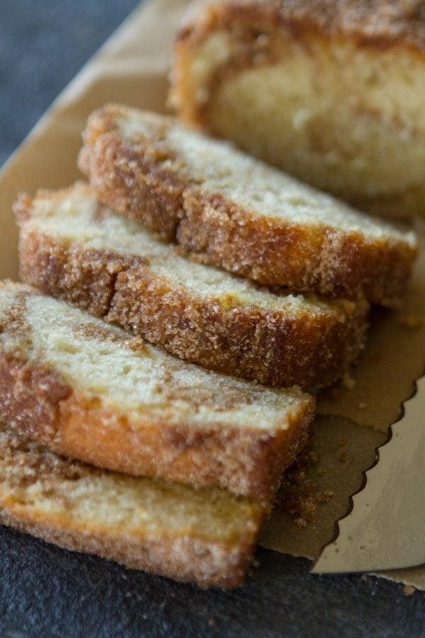 Cinnamon Swirl Donut Bread Recipe