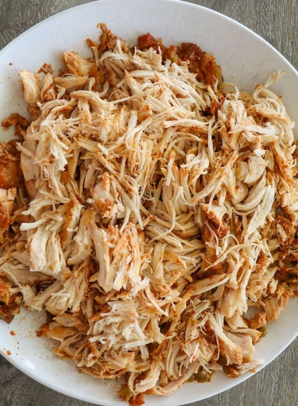 Crockpot Chicken Taco Meat Recipe