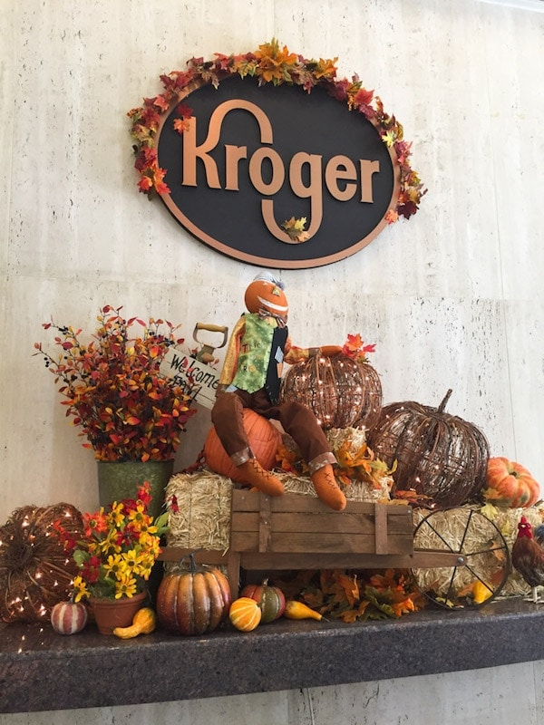 Kroger fall set up