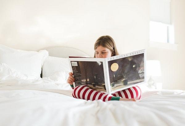 Brooke reading