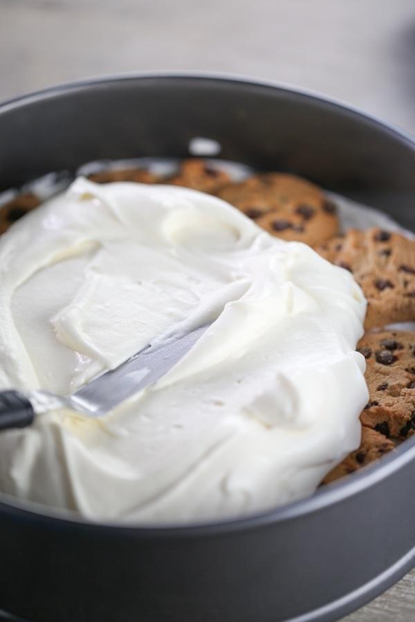 Spreading cream mixture