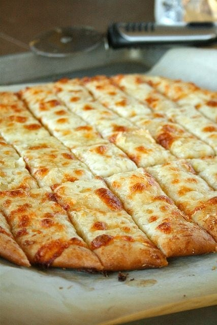 Fail proof pizza dough and cheesy garlic bread sticks laurens latest fail proof pizza dough just like in restaurants turn it into pizza or garlic solutioingenieria Image collections