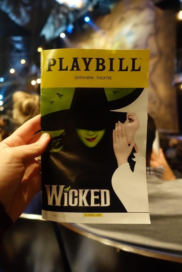 Wicked Playbill
