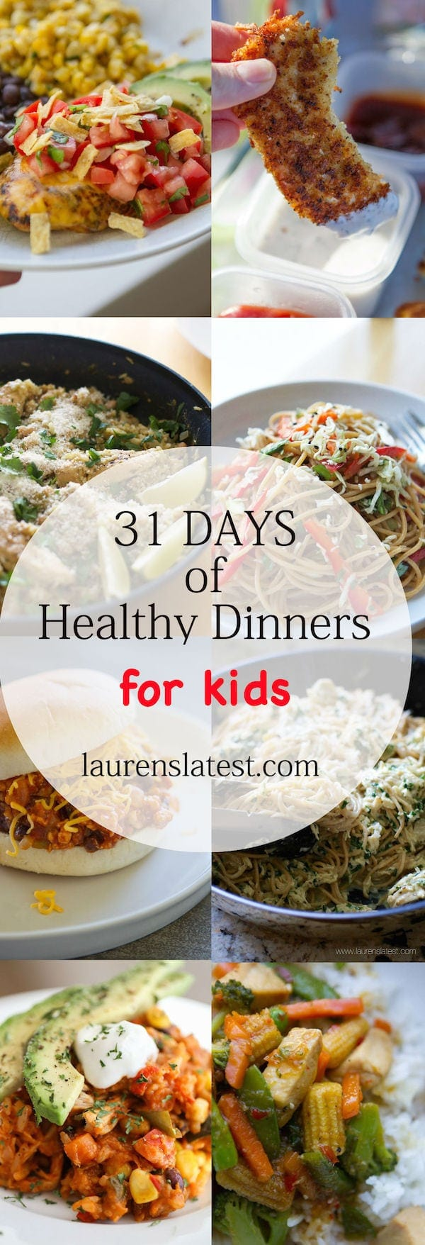 Healthy Dinner Ideas For One Month Lauren S Latest