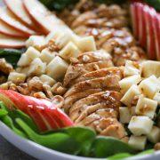 Apple Cheddar Chicken Salad
