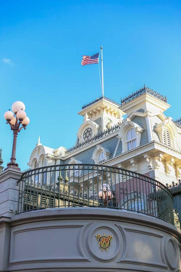 Disney building