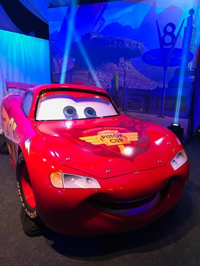 Lightening McQueen from Cars
