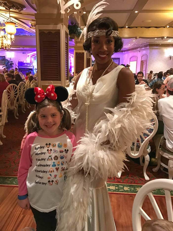 Brooke with Disney Princess Tianna