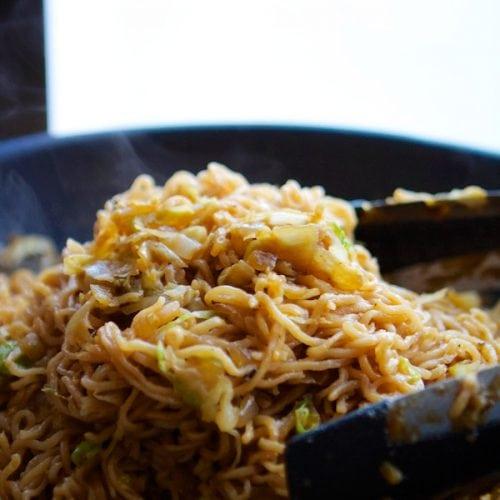 15 Minute Chow Mein Recipe