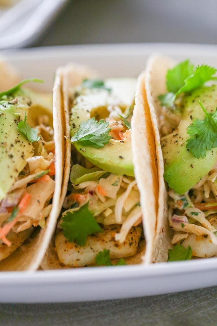 Mojito lime fish tacos lauren 39 s latest for Fish taco slaw