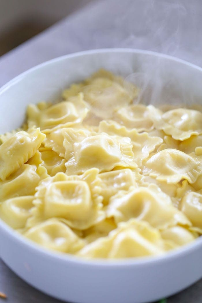 Four Cheese Stuffed Pasta