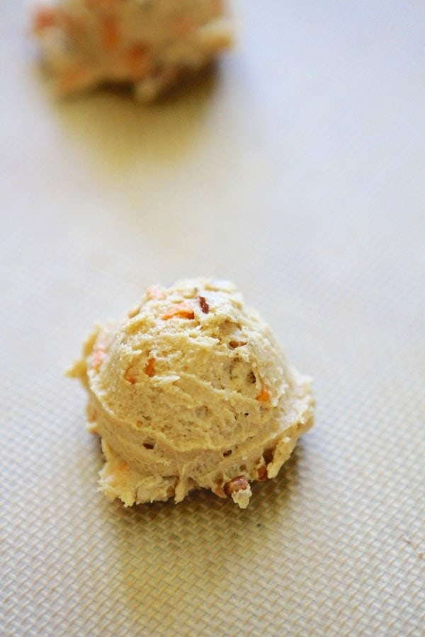 Carrot Cake Cookie Dough