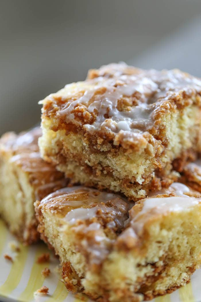 Cinnamon Streusel Coffee Cake Box Mix