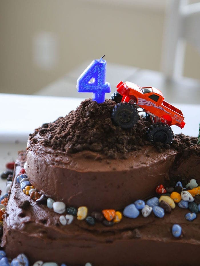 Cool Monster Truck Cake Laurens Latest Funny Birthday Cards Online Elaedamsfinfo