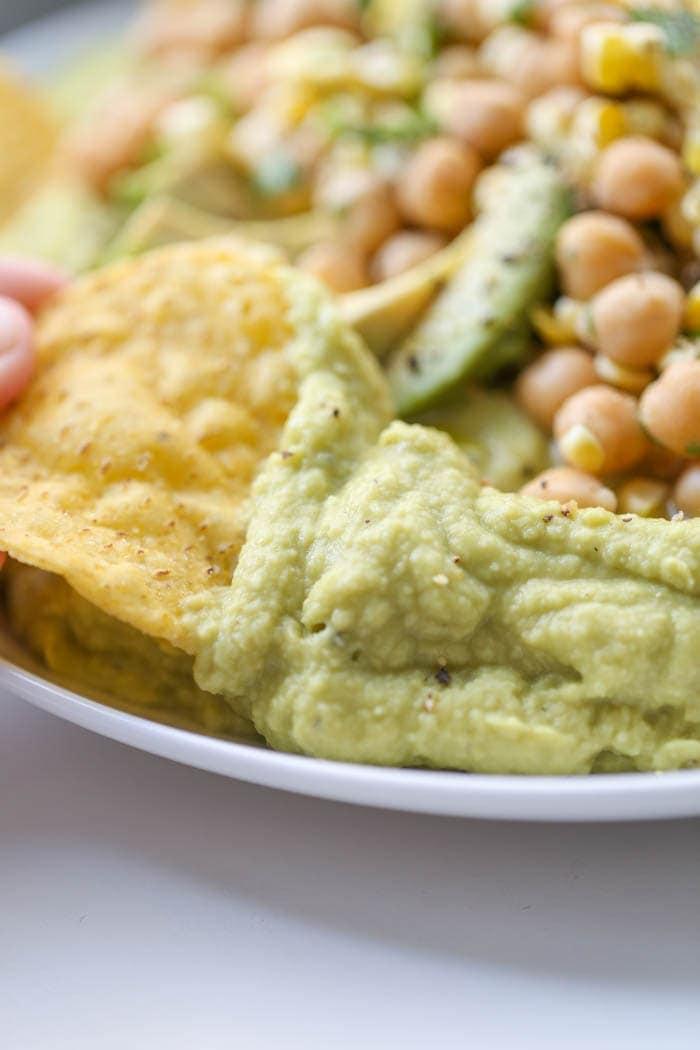 Southwest Guacamole Hummus - Lauren's Latest