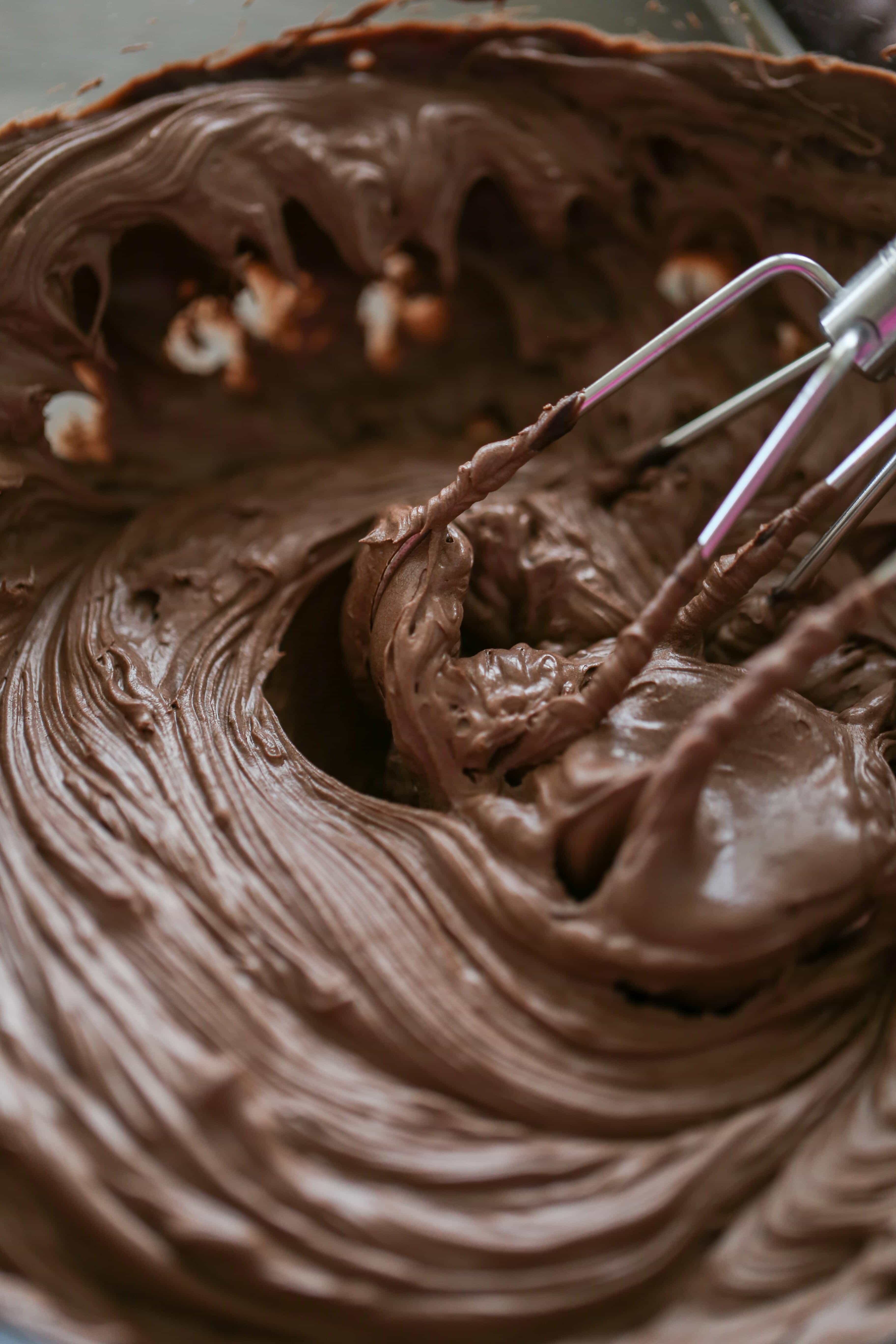 Easy Chocolate Frosting Homemade