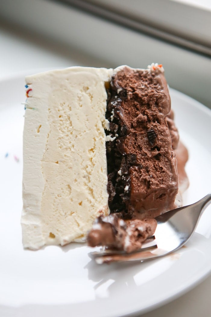 The Crunch In Dairy Queen Cake
