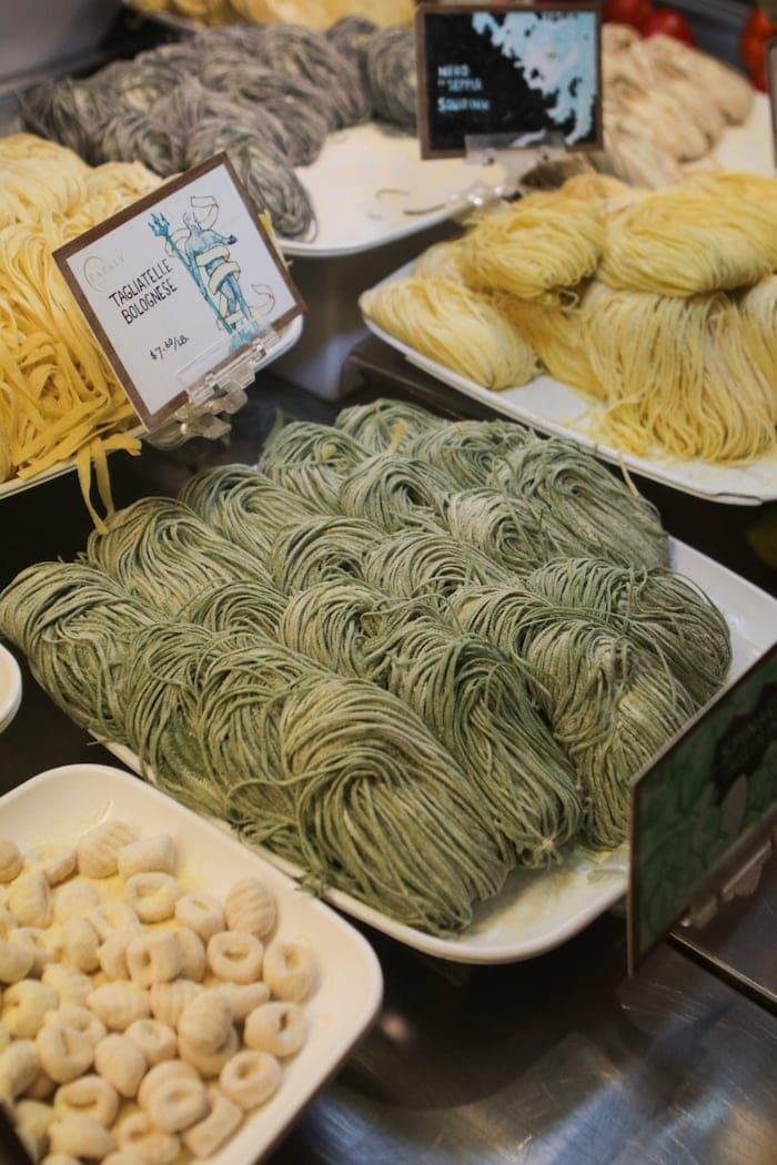 homemade pastas