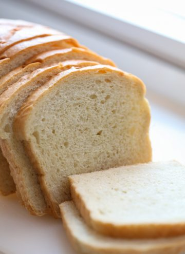 Soft White Sandwich Bread