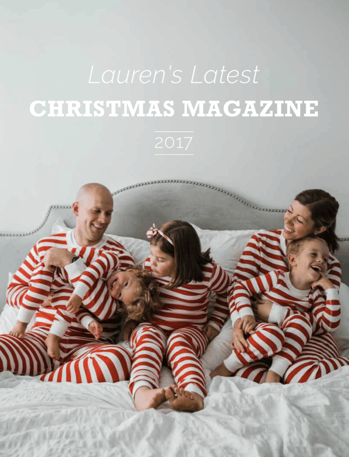2017 Christmas Magazine | Lauren's Latest