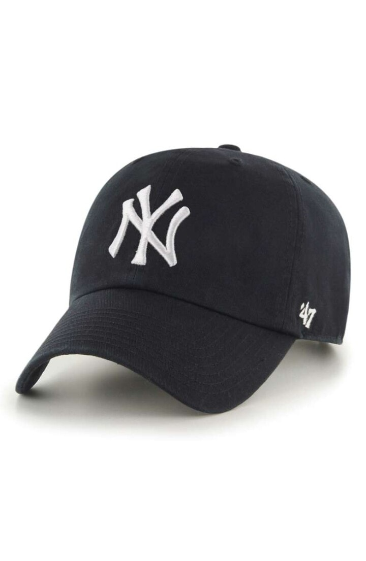 Clean Up NY Yankees Baseball Cap