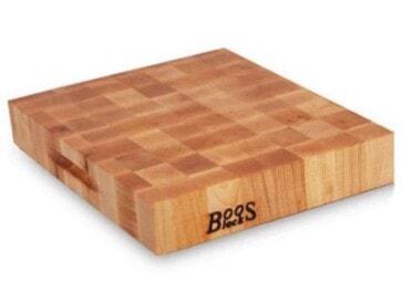 John Boos End-Grain Maple Reversible Chopping Block