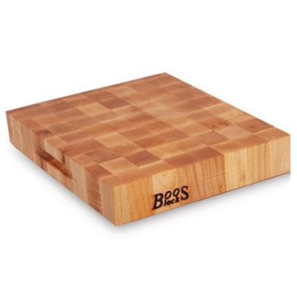 John Boos End-Grain Maple Reversible Chopping Block