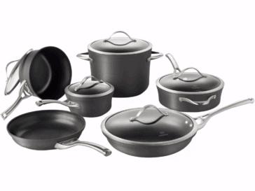 Calphalon® Contemporary 11-pc. Nonstick Cookware Set