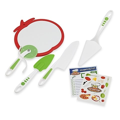 Curious Chef™ 5-Piece Pizza Making Kit