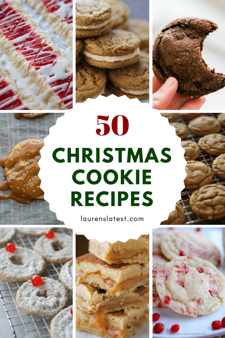 50 Christmas Cookie Recipes!