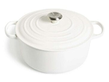 Signature 7 1/4 Quart Round Enamel Cast Iron French/Dutch Oven