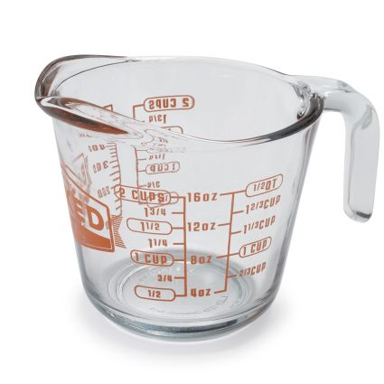 Baked by FireKing Measuring Cup, 2 Cups