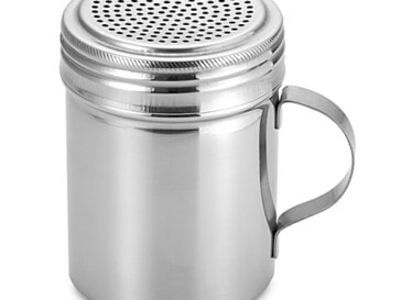 All Purpose Stainless Steel 10 oz Shaker