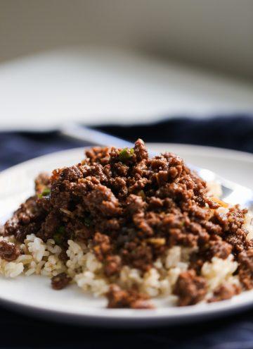 Healthier Korean Beef