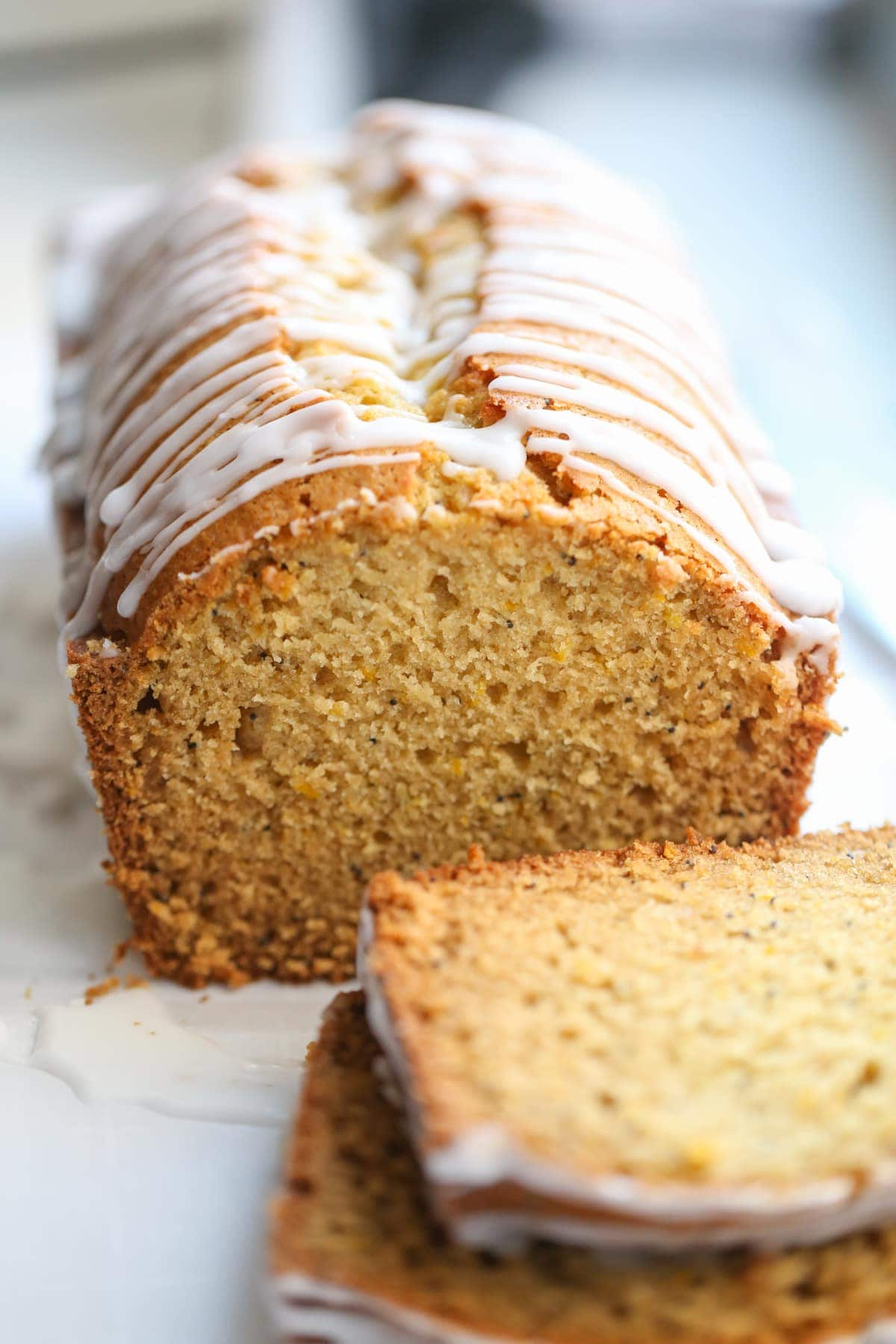 Low Fat Lemon Poppyseed Loaf Healthy