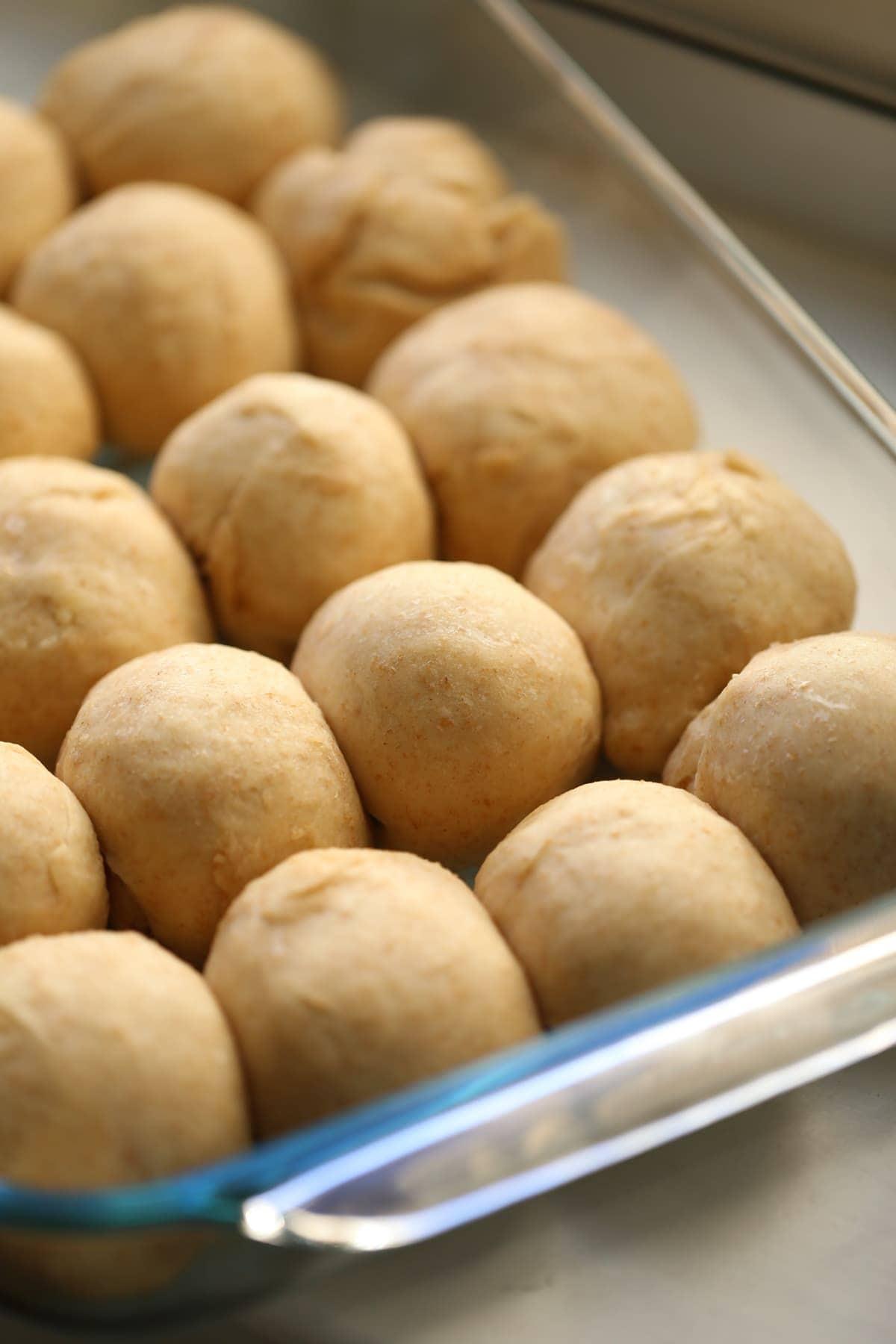 Whole Wheat Freezer Roll Dough