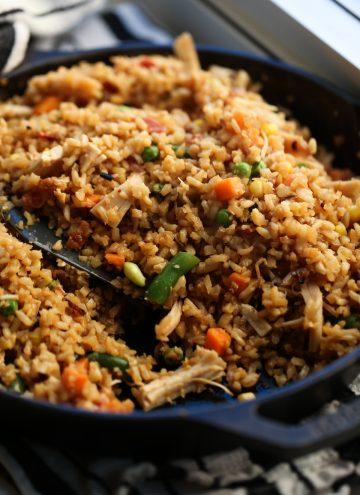 Chicken Fried Cauli Rice