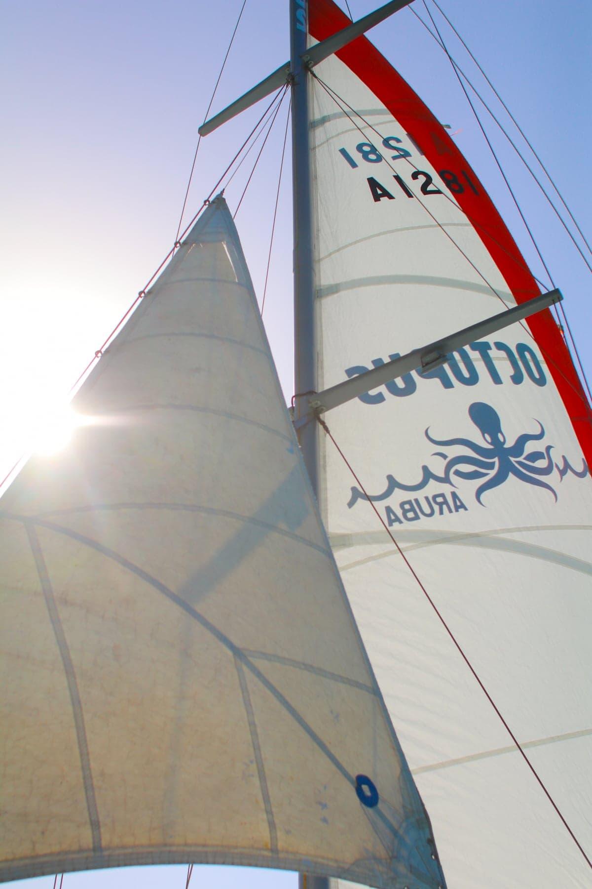 Sail boat sails