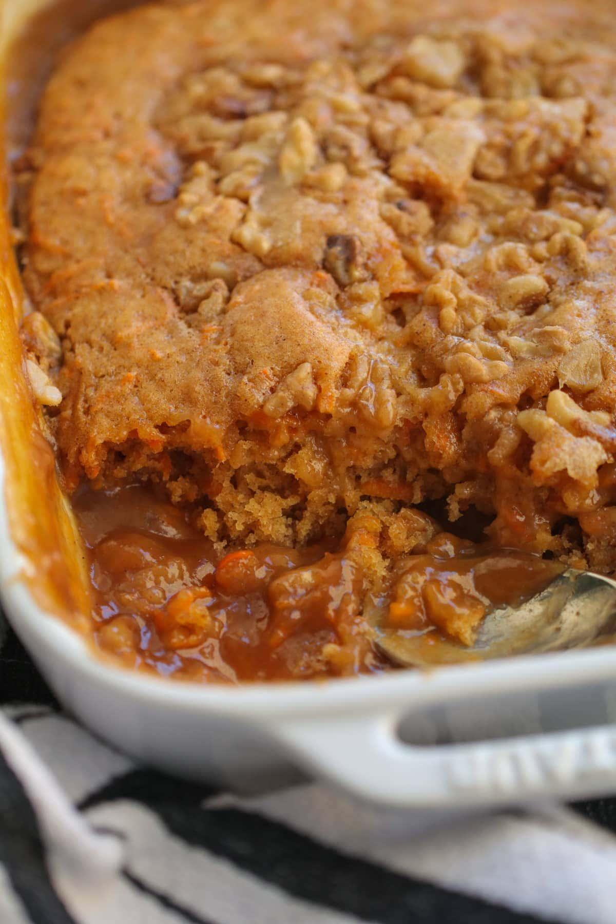 Carrot Cake Cobbler