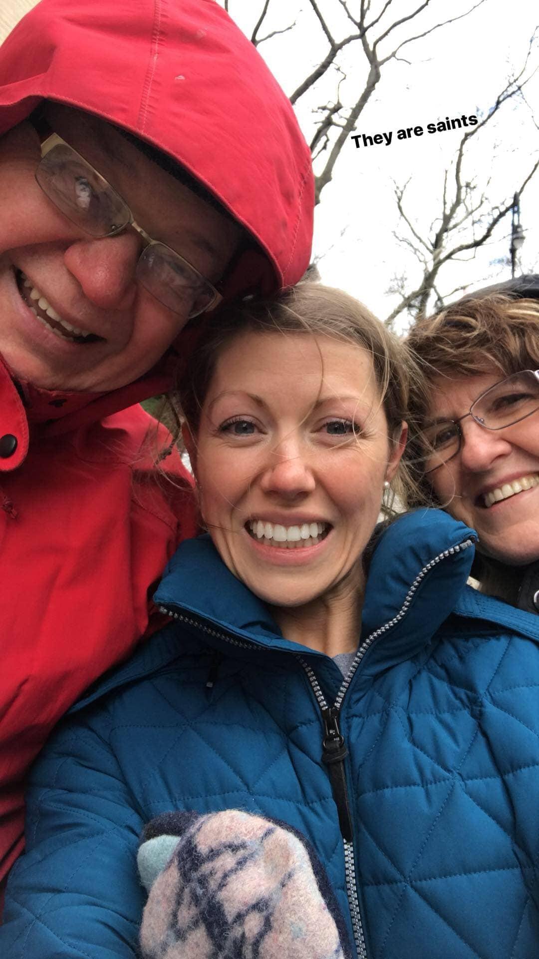 Lauren and parents