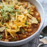 Close up of Taco Soup